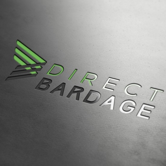 Logo Direct bardage - design graphique et communication visuelle by BimBamBoum