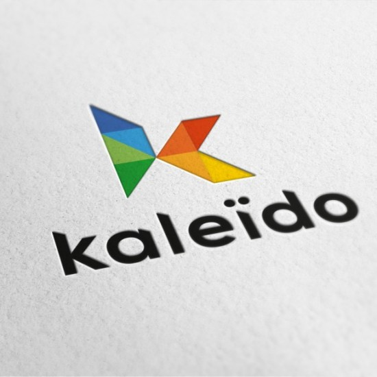 Logo Kaleido Formations - design graphique et communication visuelle by BimBamBoum