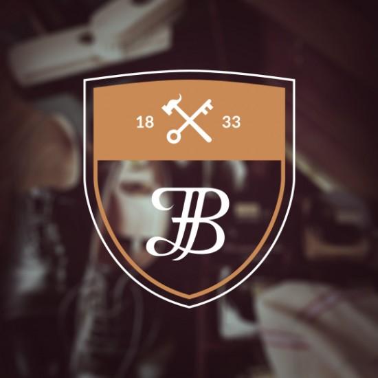 Logo Cordonnerie François Blondelle - design graphique et communication visuelle by BimBamBoum