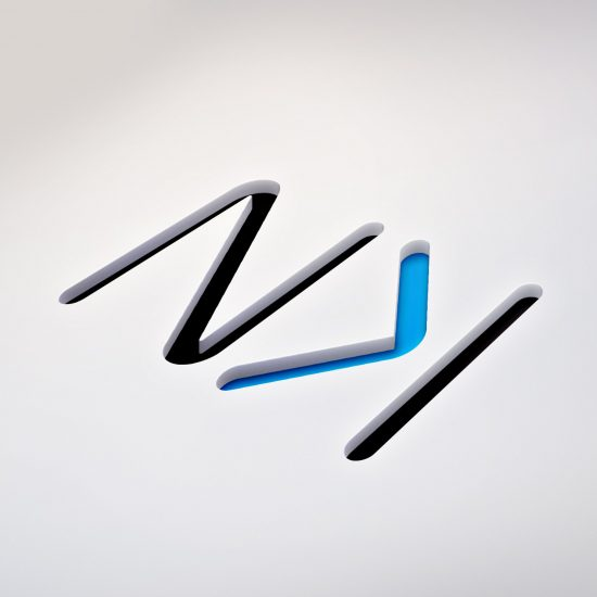 Logo Nyukom - design graphique et communication visuelle by BimBamBoum